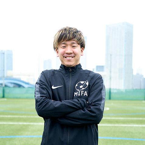 MIFAサッカースクールコーチ 酒井 遼太郎(さかい りょうたろう)