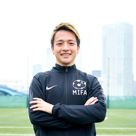 MIFAサッカースクールコーチ 上村 充哉(うえむら あつや)