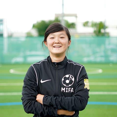 MIFAサッカースクールコーチ 原川 菜々子(はらかわ ななこ)